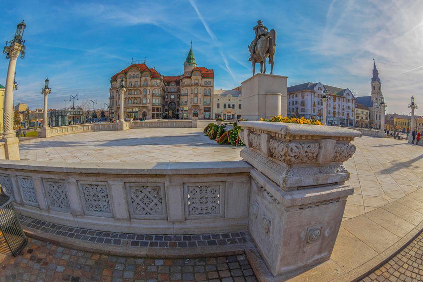 Oradea - Piața Unirii