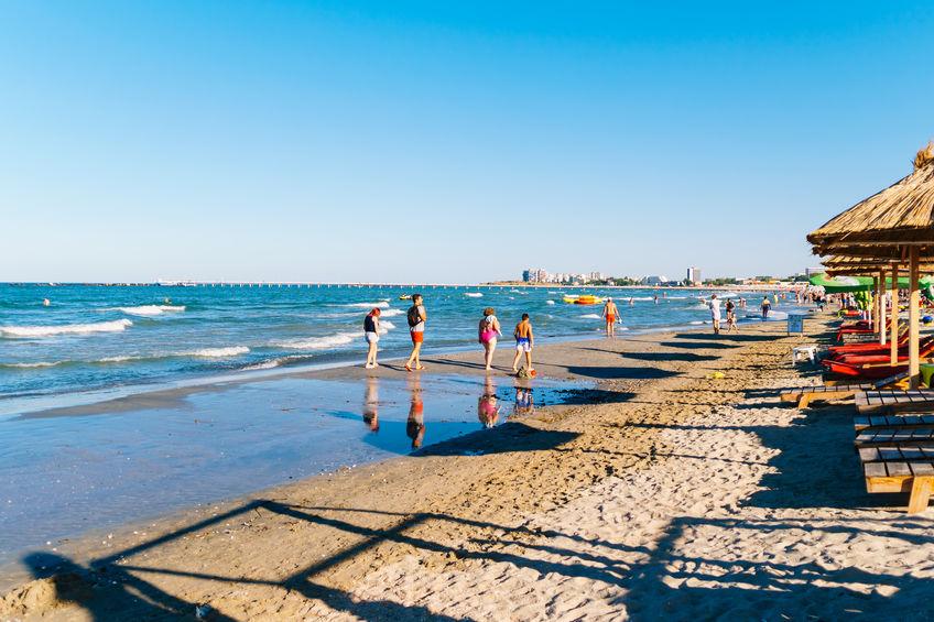 Plaja din Mamaia