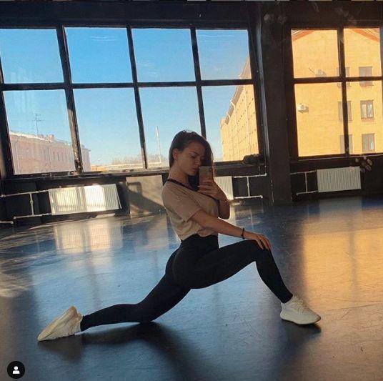Polina este dansatoare si coreograf
