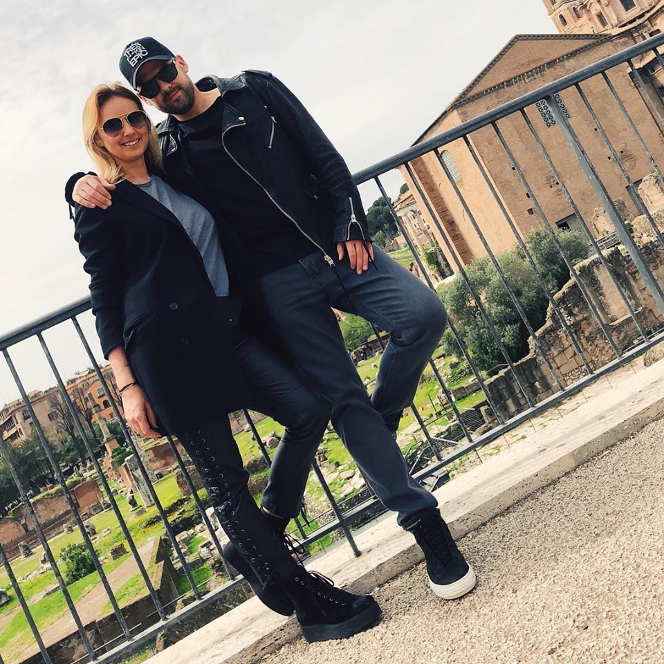 oxana Ionescu și Tinu Vidaicu