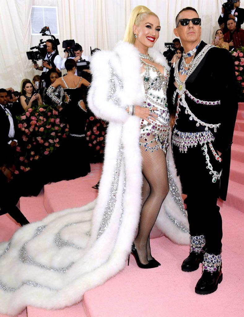 Gwen Stefani a mizat tot pe trena