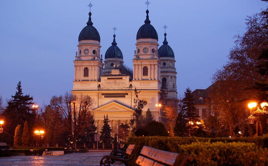 Catedrala Mitropolitană de la Iași, unde se află moaștele Sfintei Paraschiva