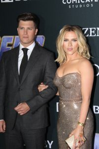 Scarlett Johansson se mărită pentru a treia oară cu comediantul Colin Jost