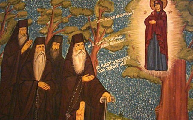 Viziunea Maicii Domnului la Bisericani