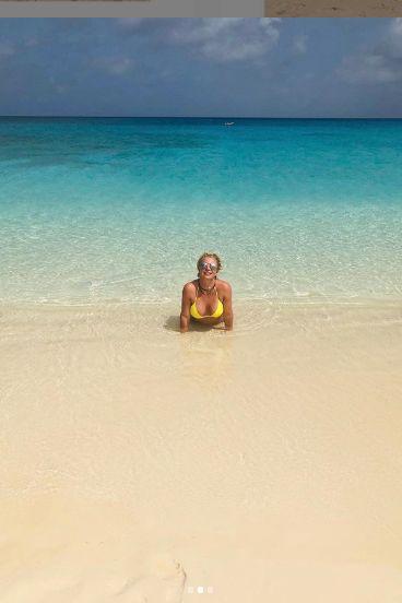 Britney e intr-un paradis tropical
