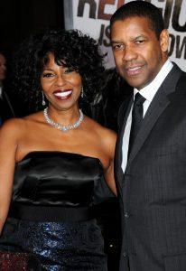 Denzel Washington si sotia lui