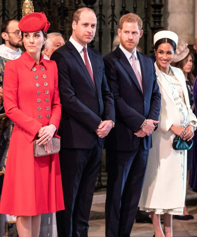 Harry si Meghan s-au despartit de William si Kate