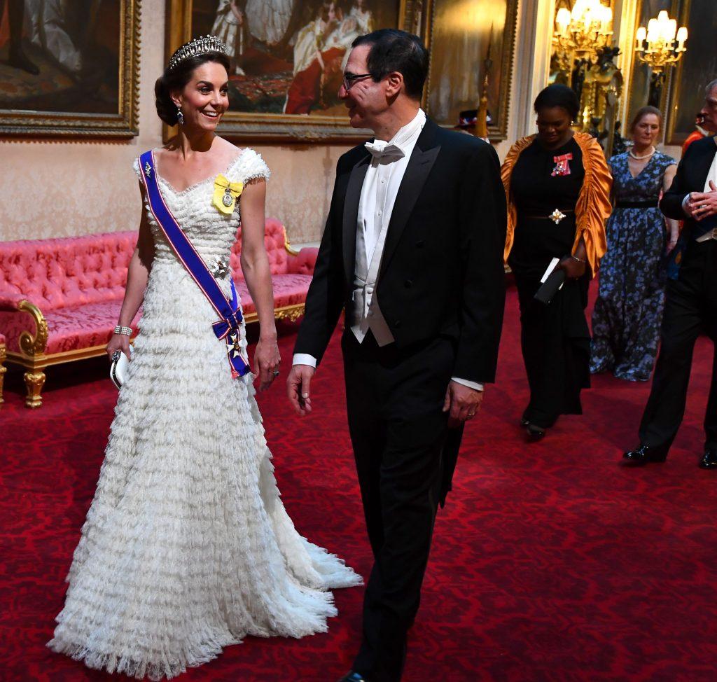 Kate Middleton a purtat tiara sa preferata