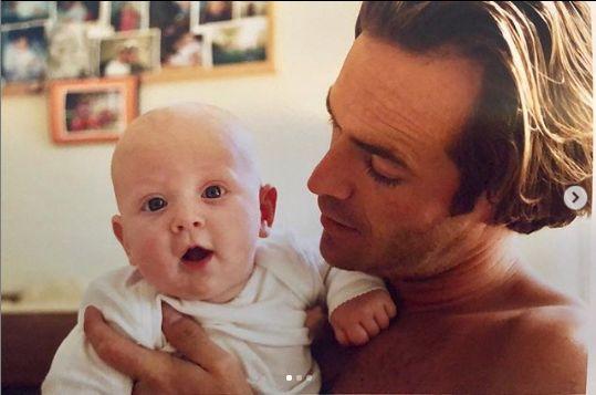 Luke Perry si fiica sa
