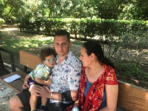 familia Stan a reușit să obțină copilul dorit in urma unei proceduri de fertilizare in vitro