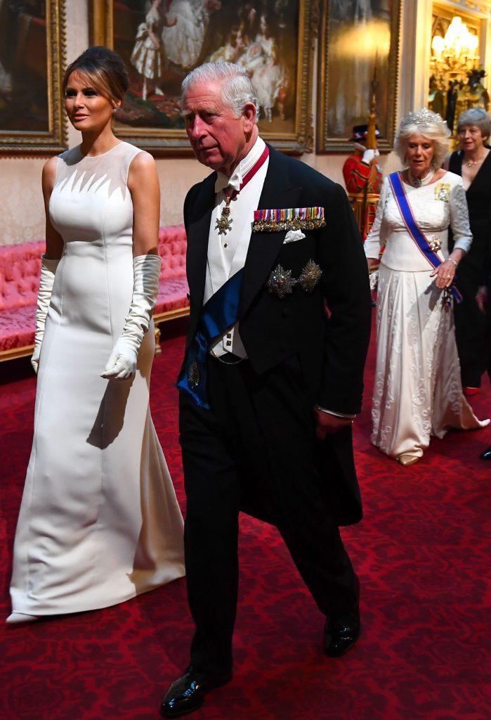 Melania Trump a aratat, ca de obicei, ireprosabil