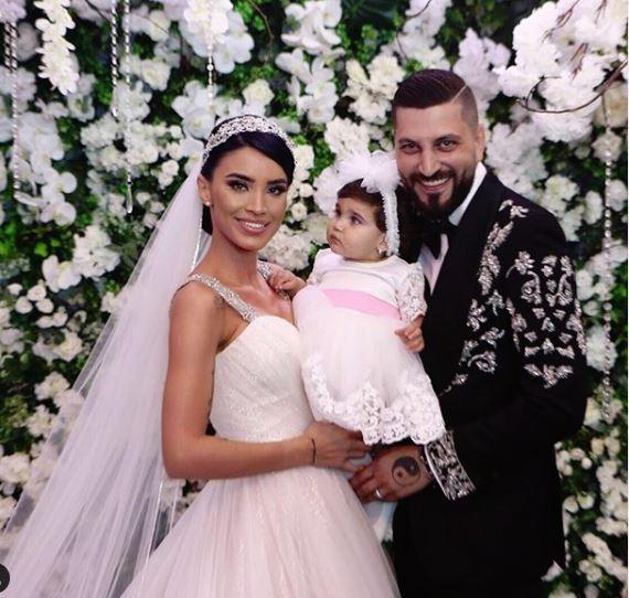 Adelina Pestrițu și Virgil Șteblea au avut o nuntă de basm, cu momente extrem de emoționante. La nuntă le-a cântat Michael Bolton