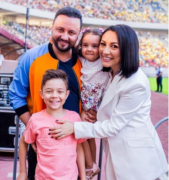Fiica Andrei și a lui Cătălin Măruță a împlinit 4 ani