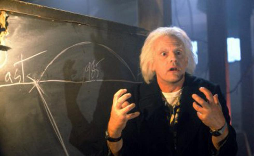 Film SF - Back to the Future - anul 1985