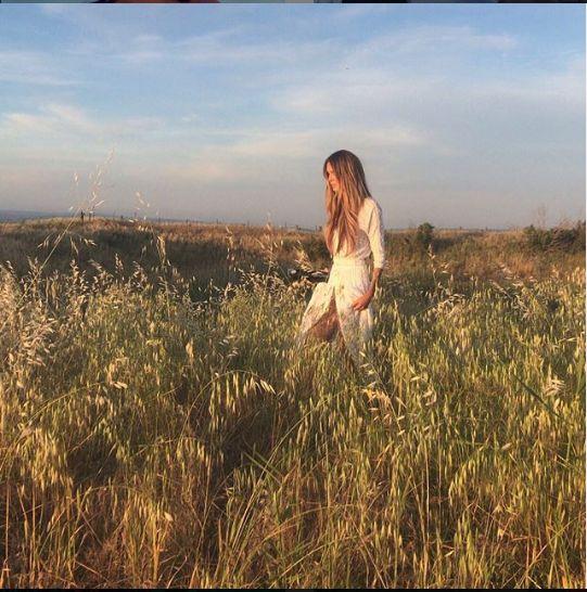 Elle, intr-o vacanta recenta in Sicilia