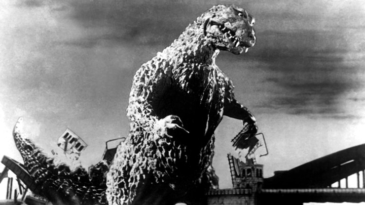 Film SF - Godzilla - anul 1954