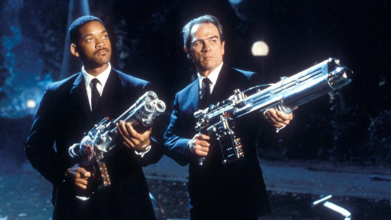 Film SF - Men in Black - anul 1977