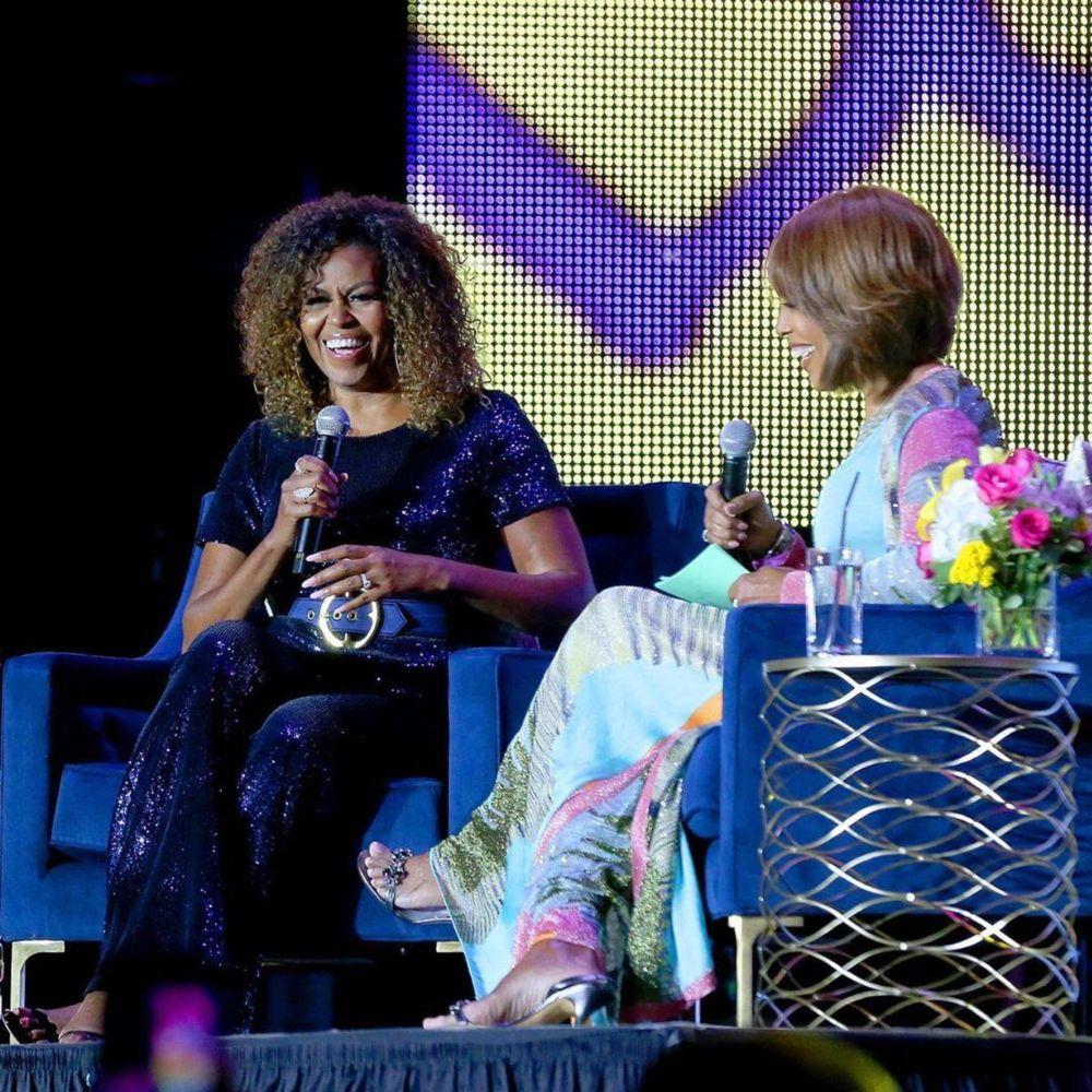 Michelle si-a schimbat si culoarea