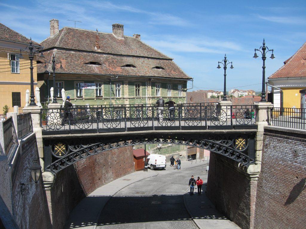 Podul Minciunilor, Sibiu