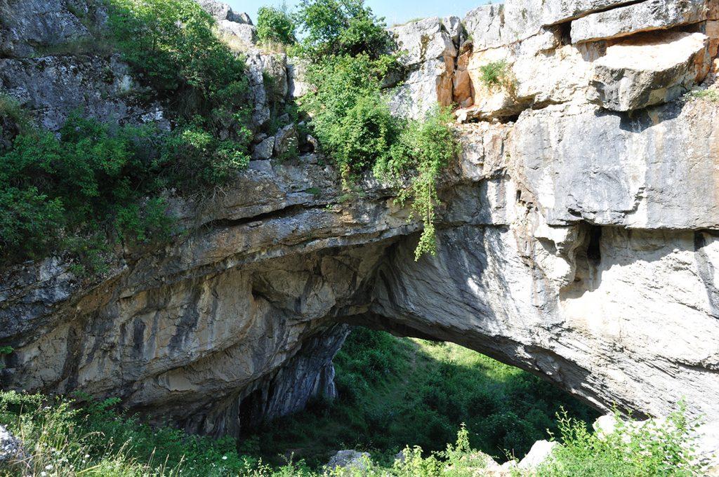 Podul lui Dumnezeu, județul Mehedinți