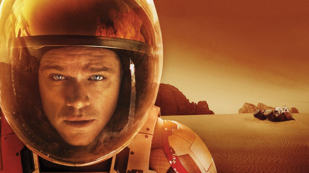 Film SF - The Martian - anul 2015