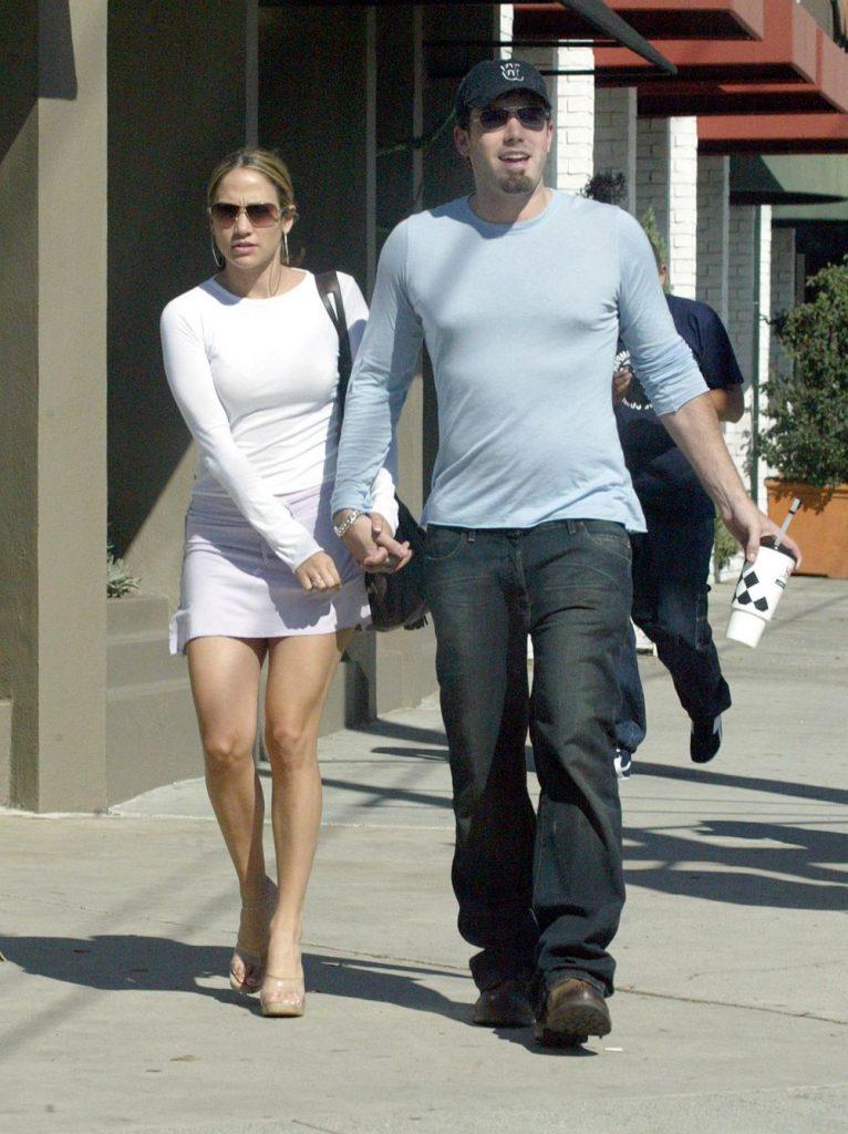 pe vremea cand forma un cuplu cu Ben Affleck, pe care l-a parasit inainte de nunta