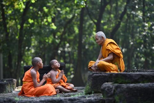 Populația budistă a Indiei abia atinge 1%