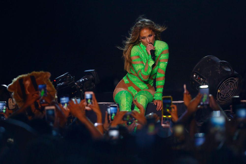 a fost primul concert al lui J Lo in Egipt