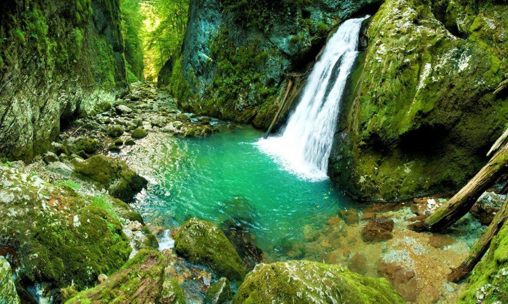 Cascada Evantai din România
