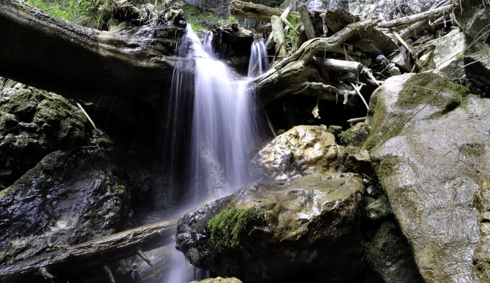 Cascada Tamina din România