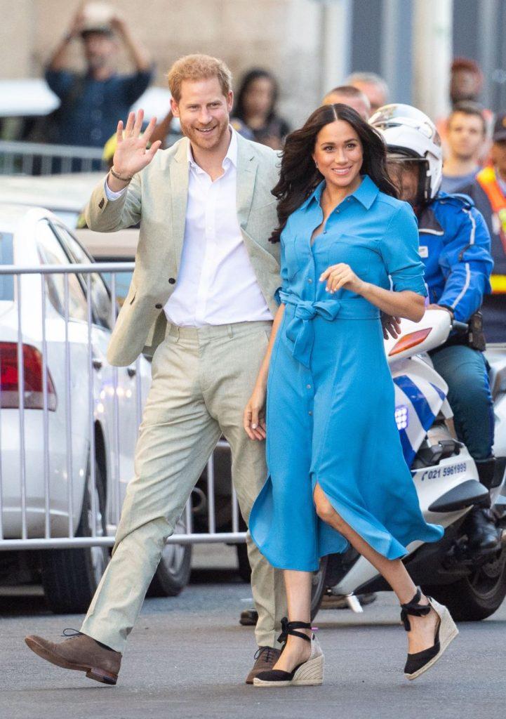 Prima apariție în public a prințului Harry și a lui Meghan Markle de când s-au retras din familia regală. Au ajuns la Miami