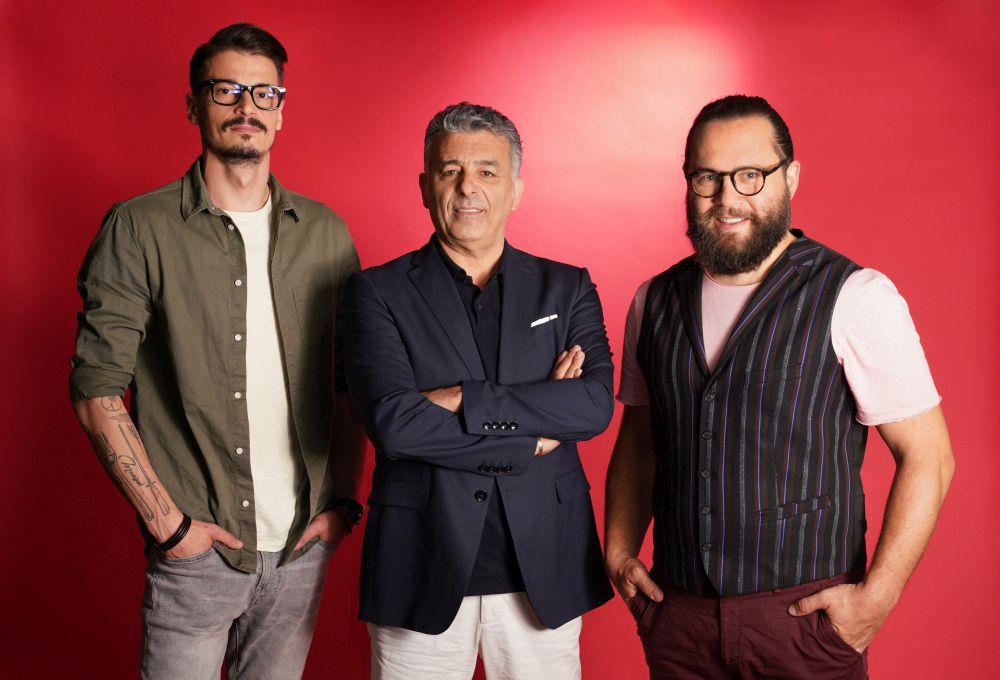 Chef Silviu Chelaru, Chef Joseph Hadad & Cosmin Tudoran