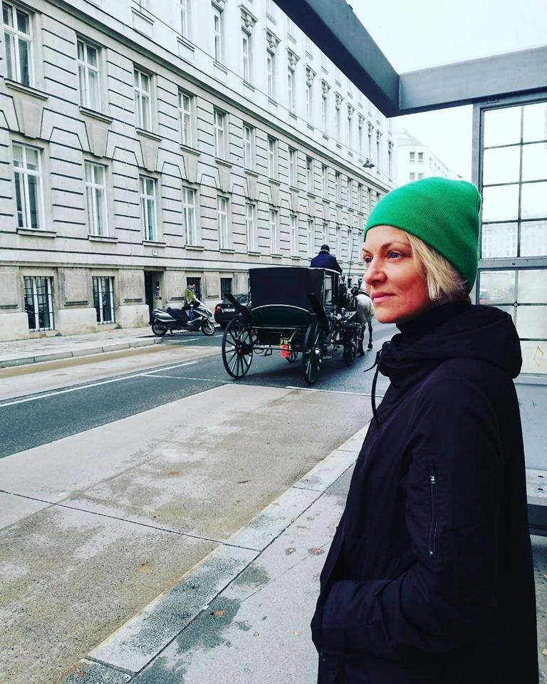 Dana Nalbaru, la Viena