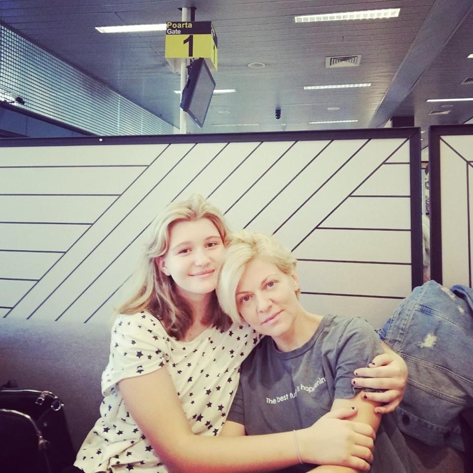 Dana si fata ei cea mare