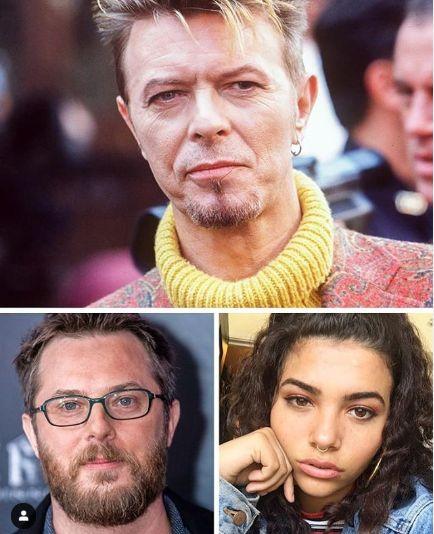 David Bowie si cei doi copii ai sai