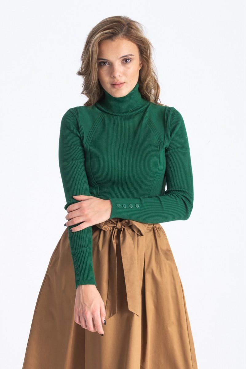 Culori la modă în toamna 2019: Verde. Maletă verde
