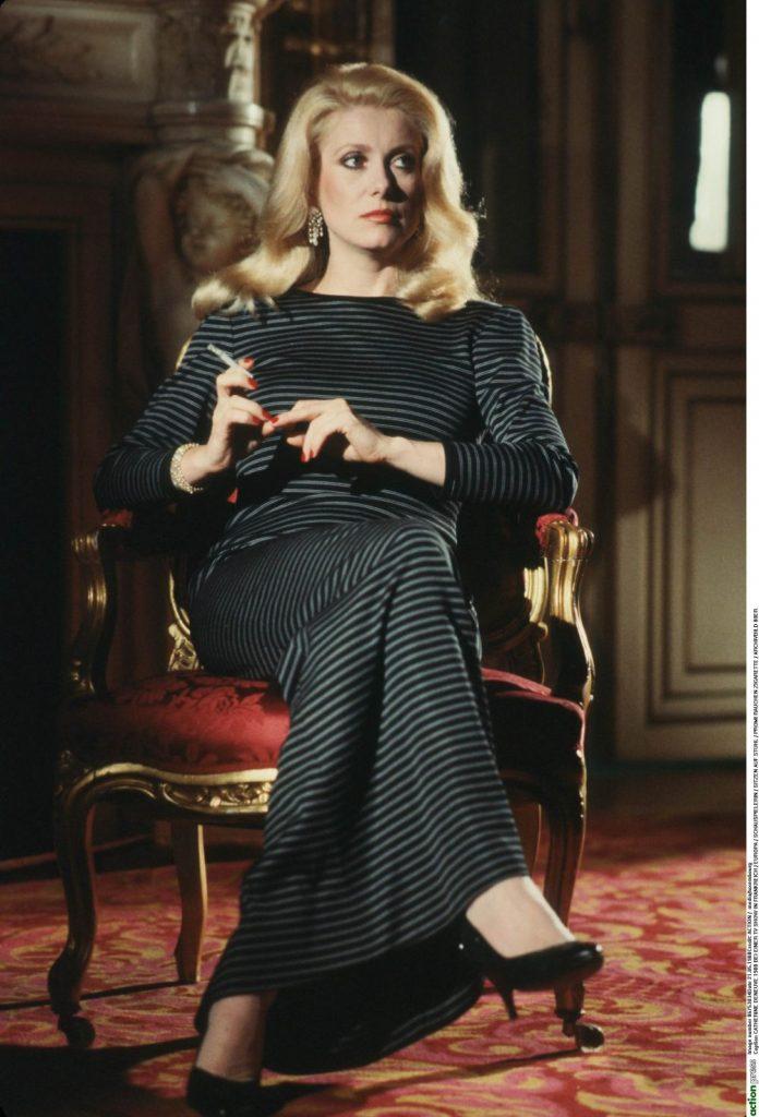 catherine Deneuve, in 1980