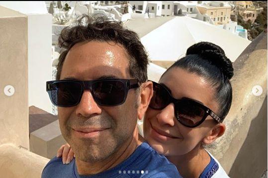 cei doi isi petrec luna de miere in Grecia