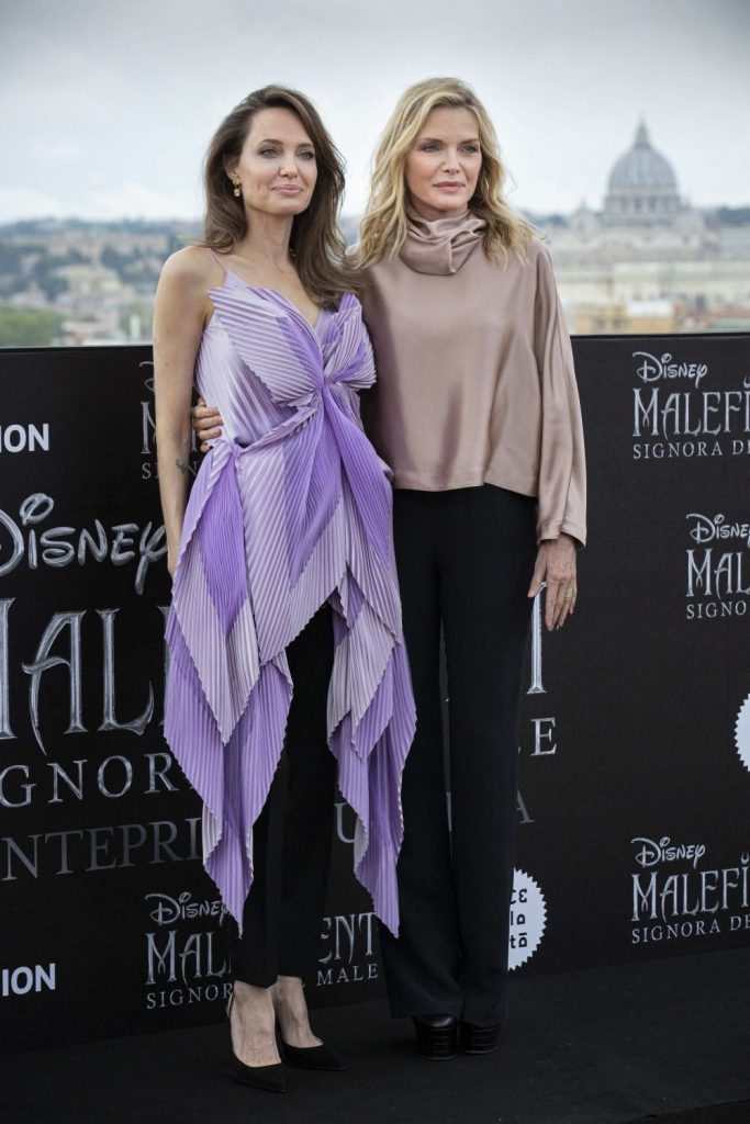 impreuna cu Michelle Pfeiffer