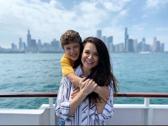 impreuna cu nepotul ei