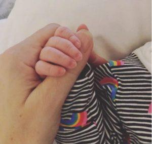prima fotografie cu bebelusul