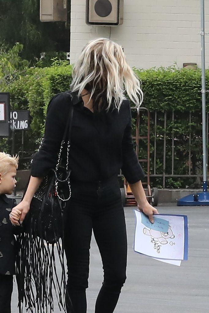 Fergie si baietelul ei