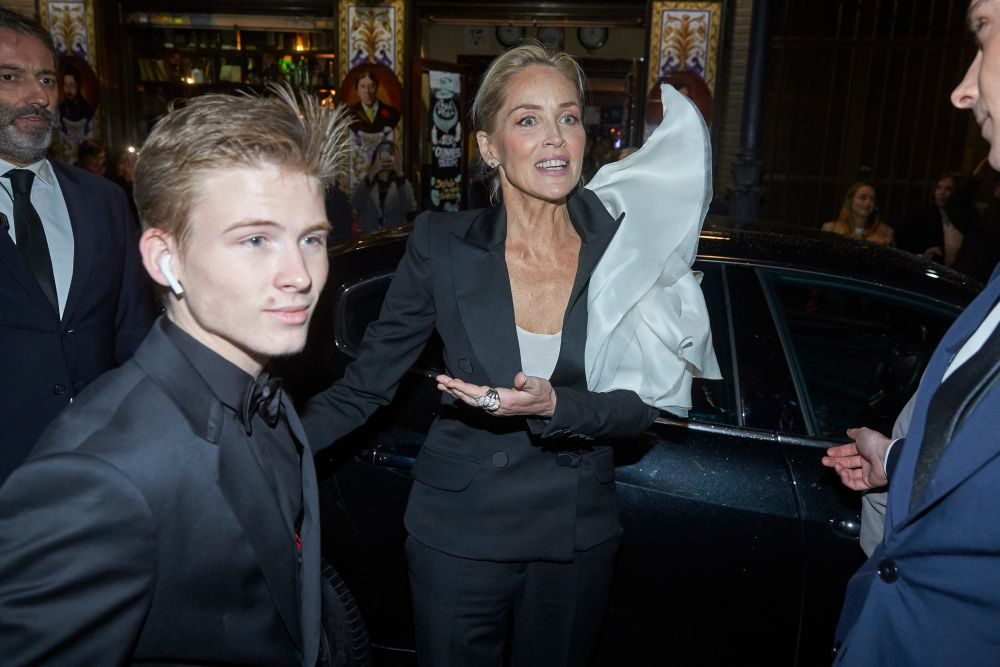 Sharon Stone si Roan
