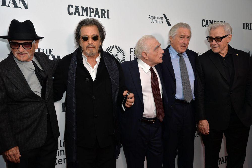 impreuna cu Al Pacino, Martin Scorsese, Robert De Niro si Harvey Keitel