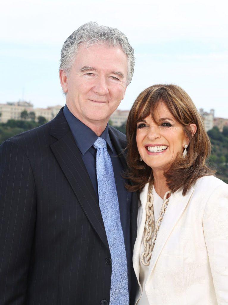 impreuna cu Linda Gray