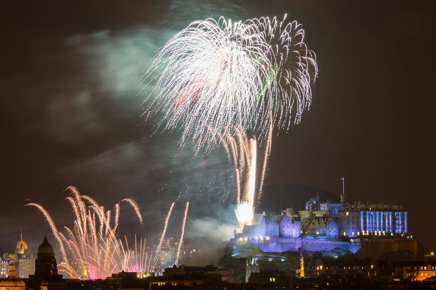 Destinații romantice pentru Revelion: Edinburgh