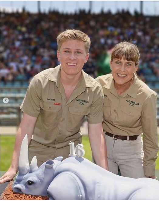 Robetr si Terri Irwin, in prezent
