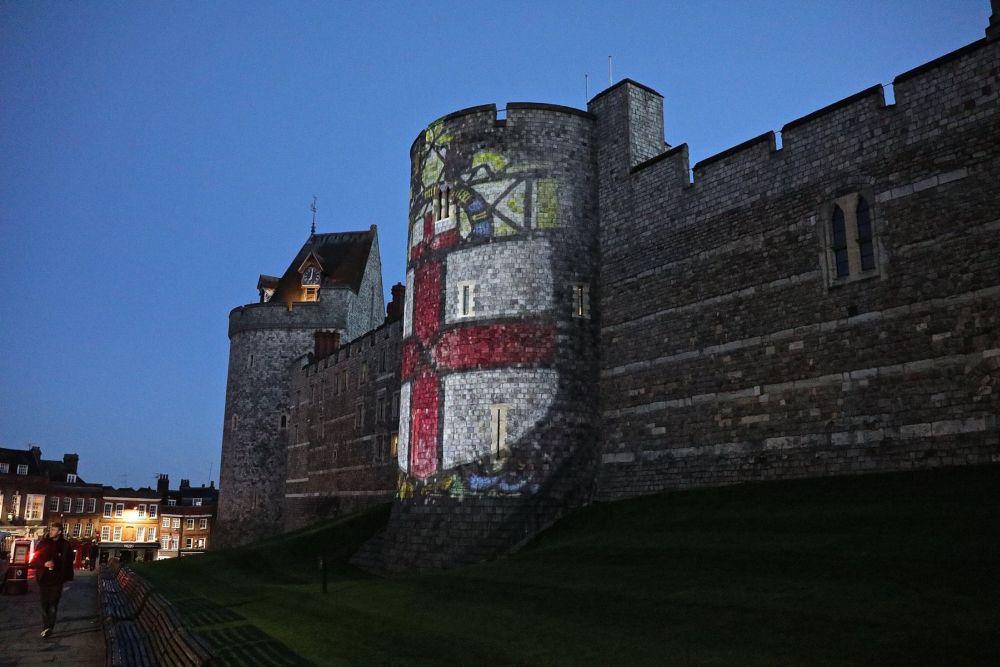 castelul Windsor, decorat de sarbatoare, poate fi vizitat in aceasta perioada