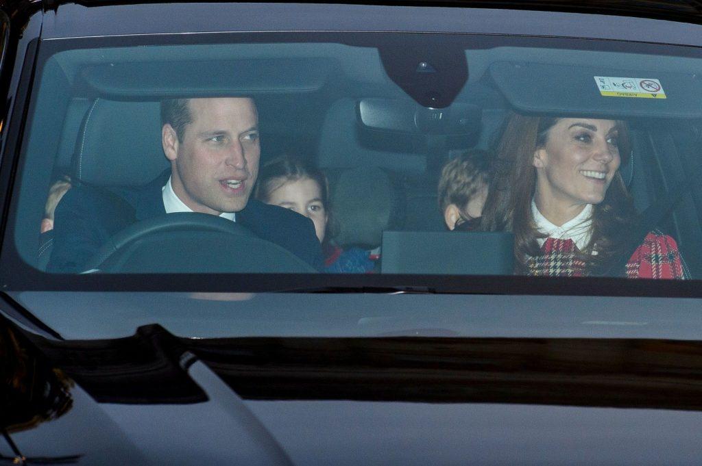 ducii de Cambridge si cei trei copii ai lor