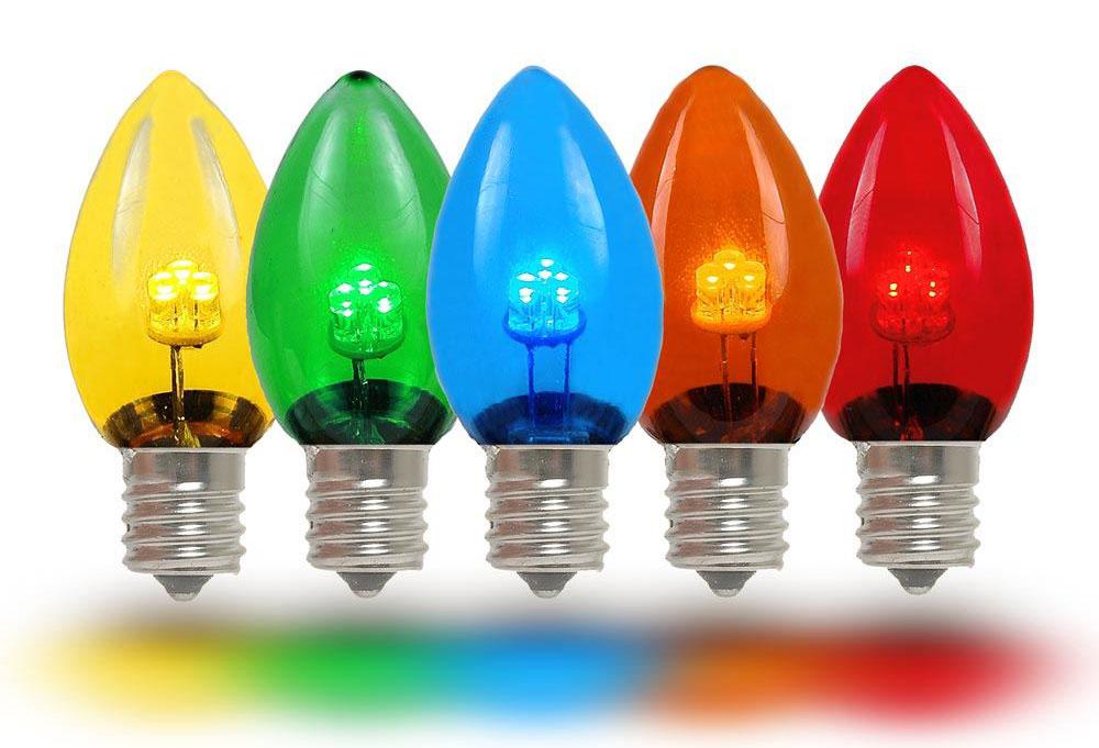 Cine a inventat becul - Lumini LED